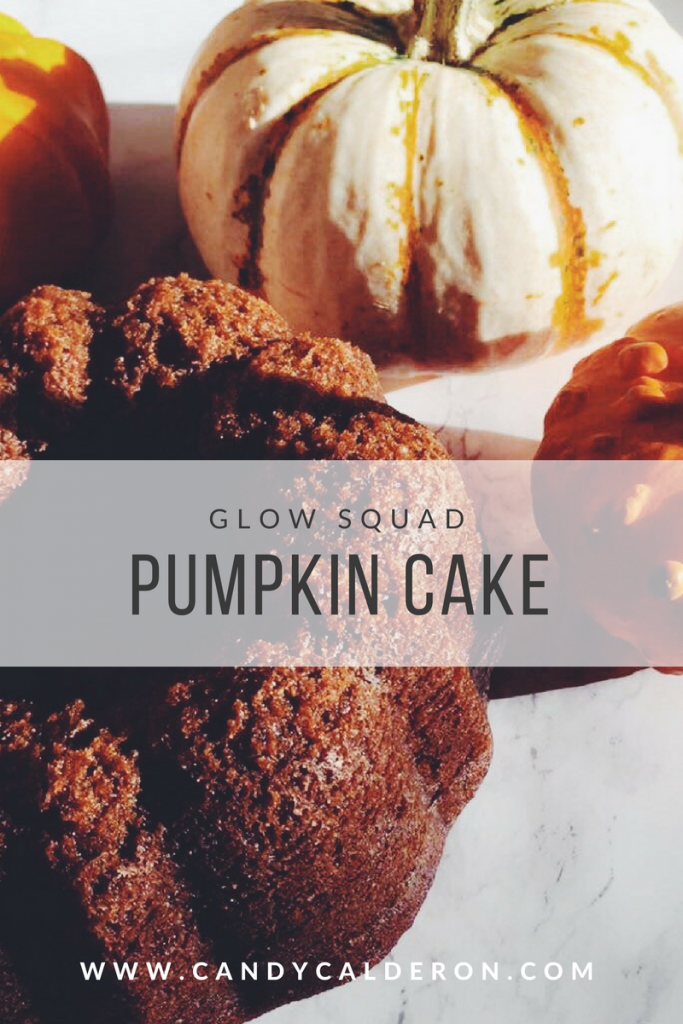 Fall is here, and all I'm thinking is about eating pumpkin inspired EVERYTHING! Let's start with this yummy pumpkin cake, it's so moist and delish!