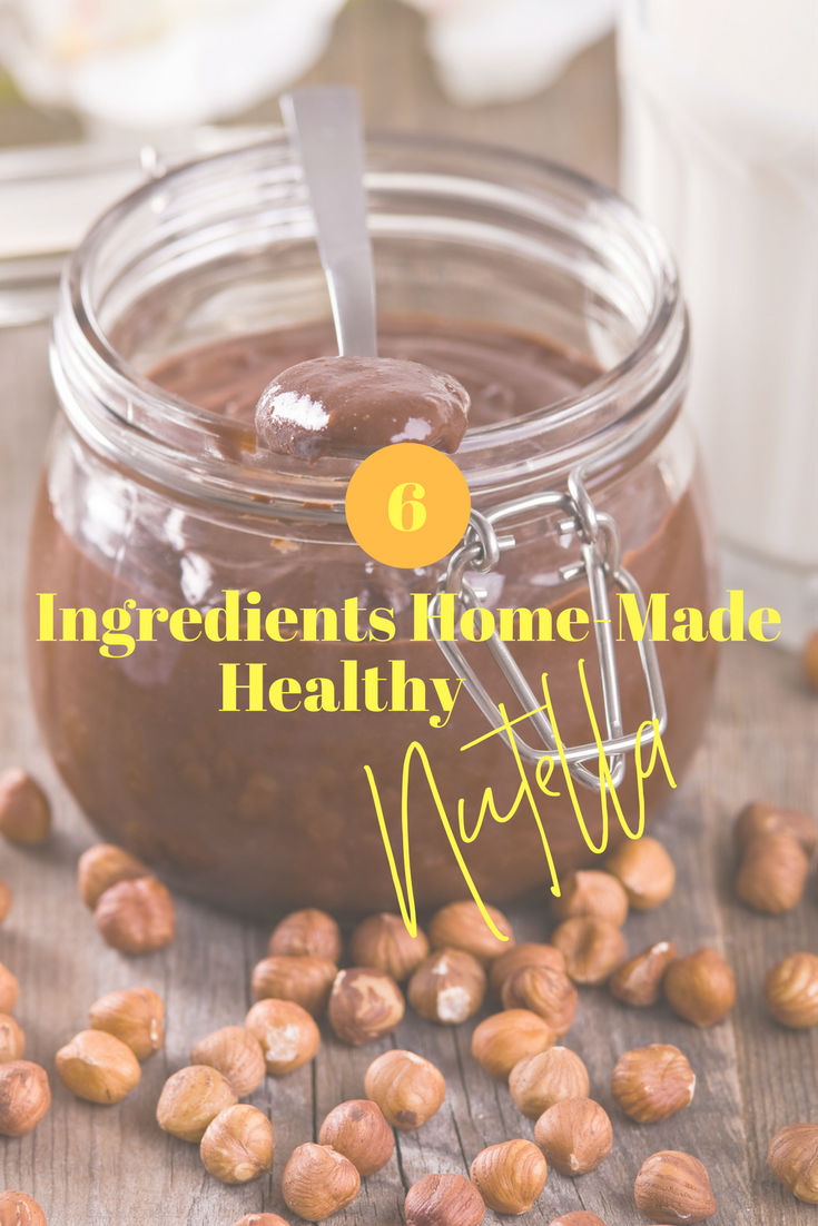 After learning the harmful ingredients in Nutella (palm oil & sugar I'm looking at you!) I knew I HAD to come up with a healthy Nutella version!