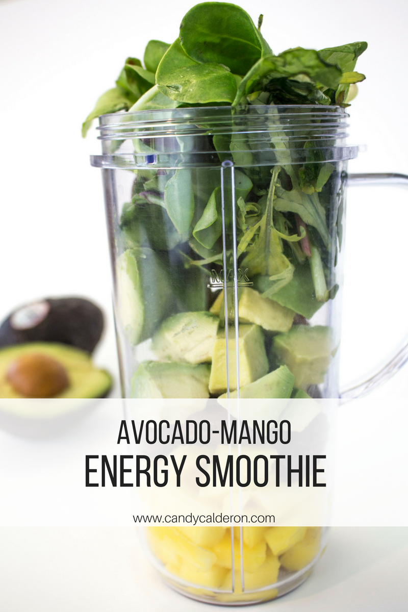 This avocado-mango energy smoothie is amazing not only for energy but for my skin as well. Definitely one of my favorites, use often as a pre-workout!