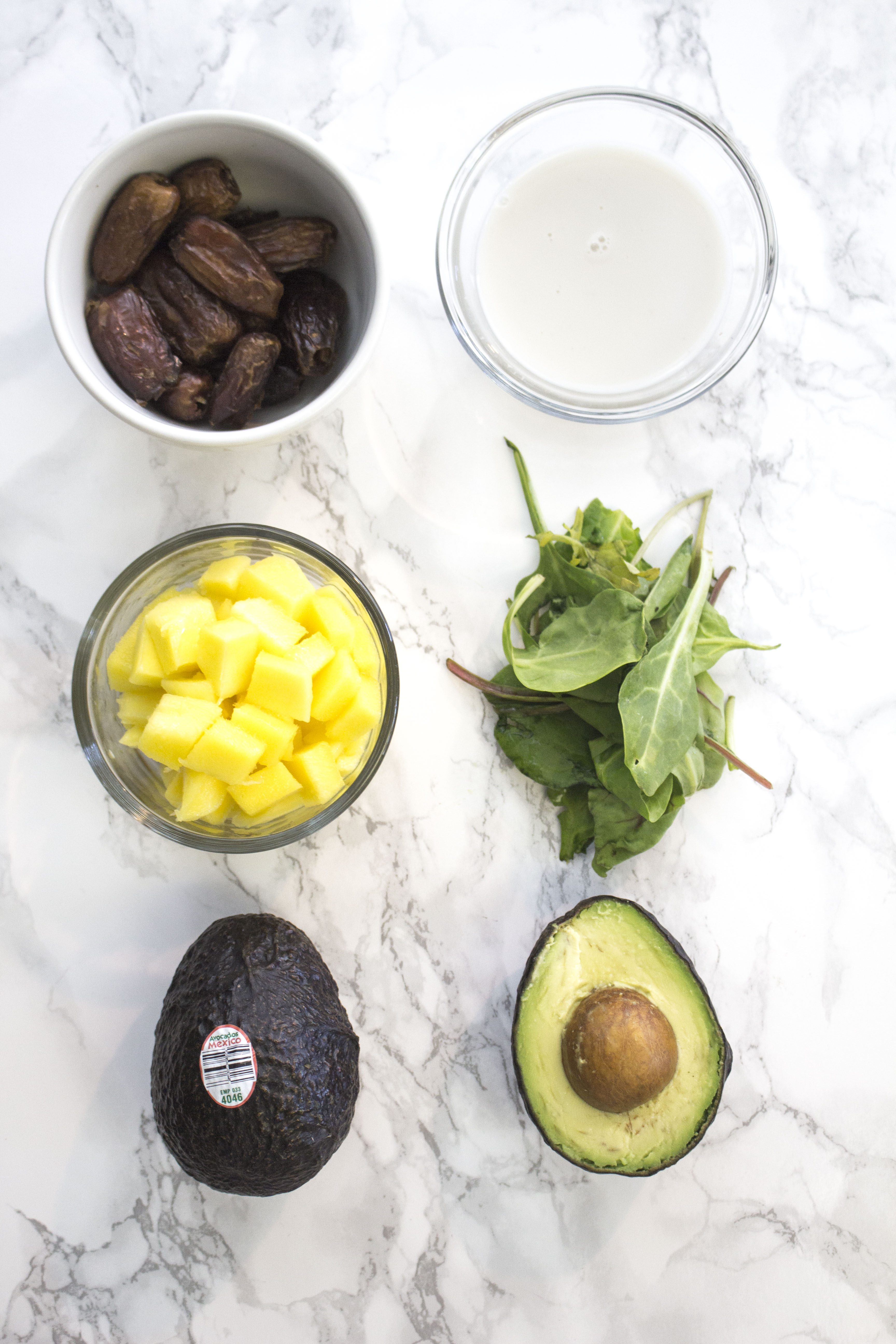Avocado-Mango Energy Smoothie