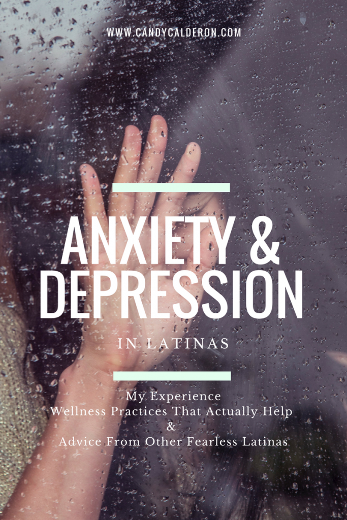 Anxiety and depression in Latinas is not often discussed, I want to change that! Join me and other fearless Latinas + learn which Wellness practices work!