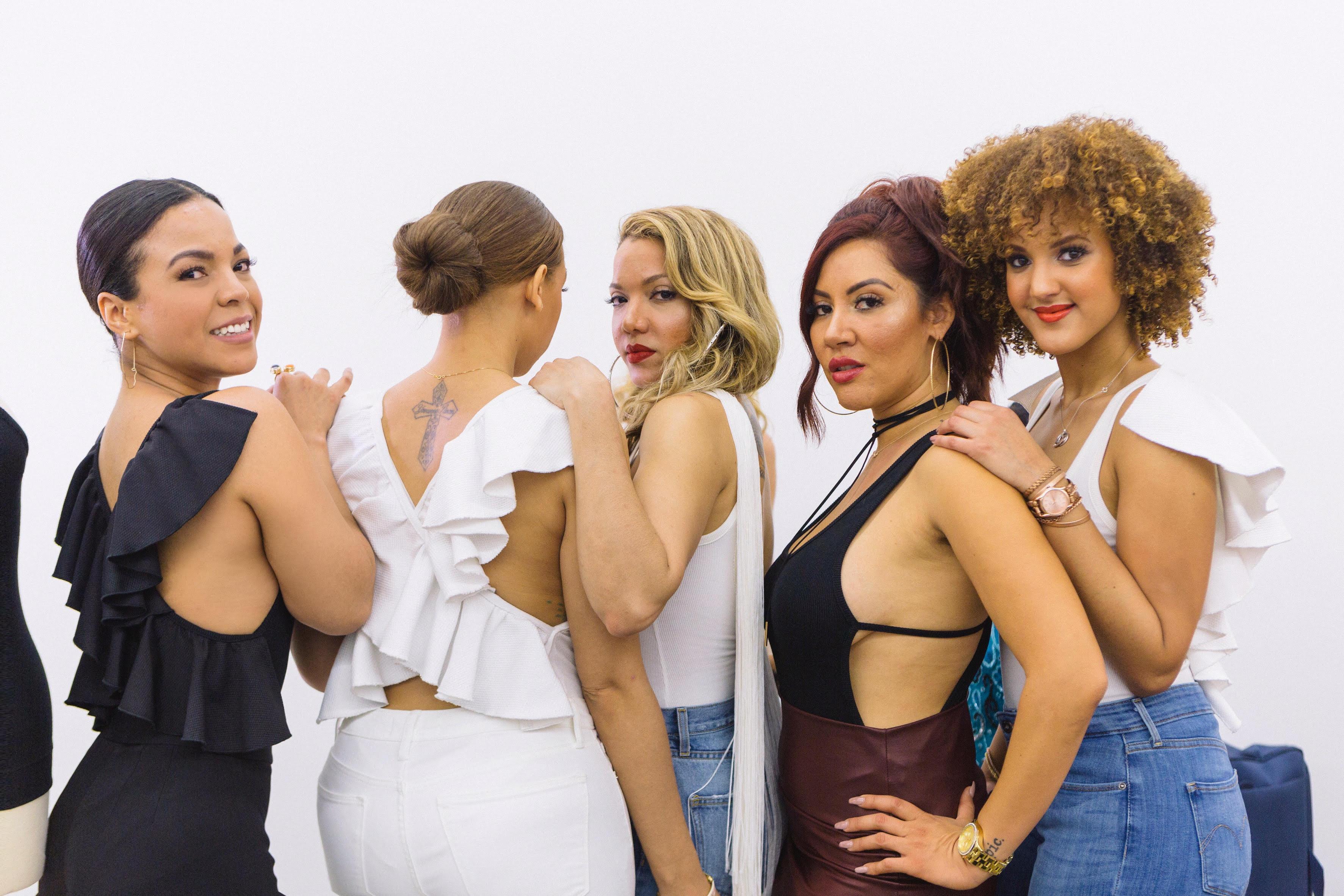 emerald black latina models