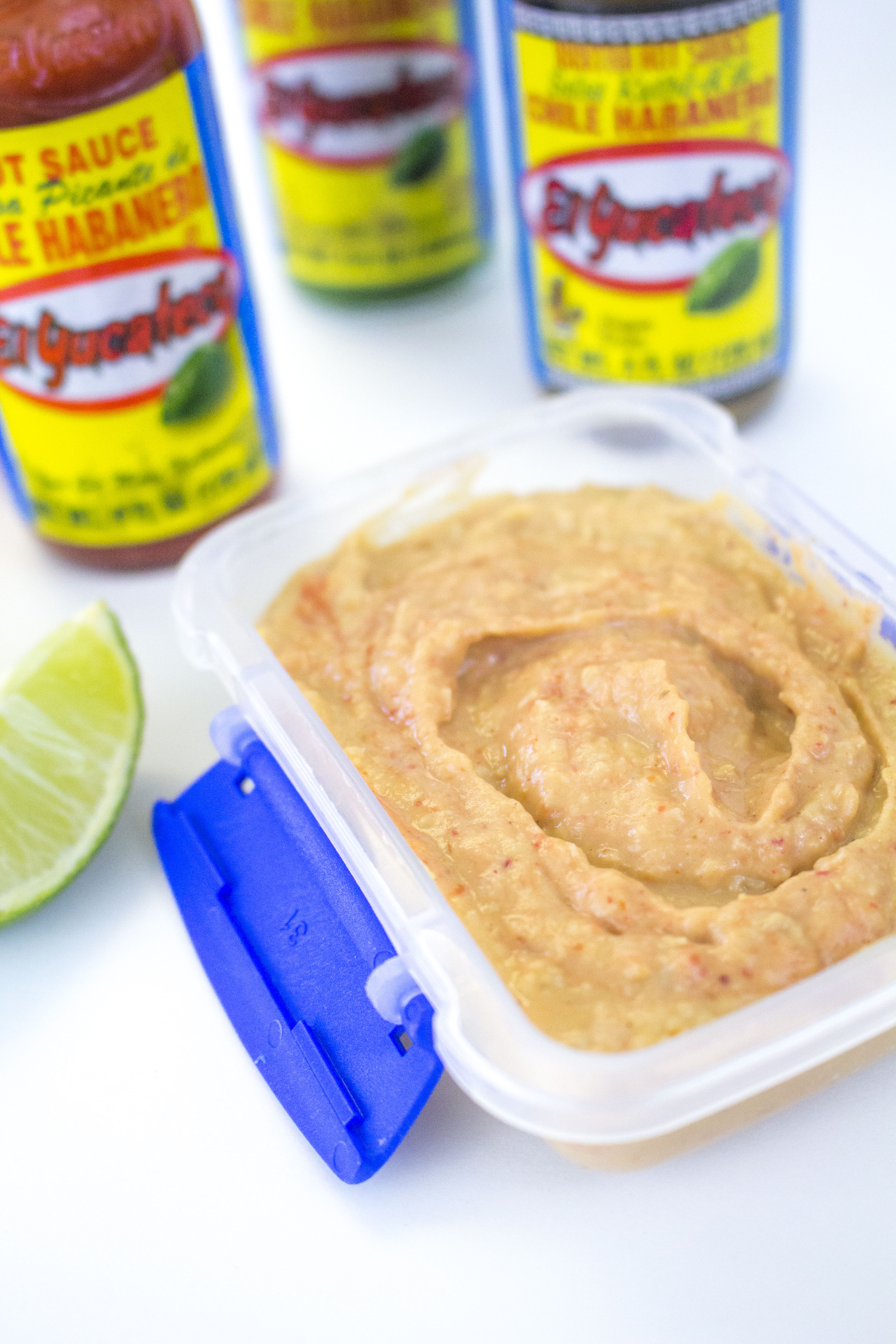 habanero hummus on the go snack