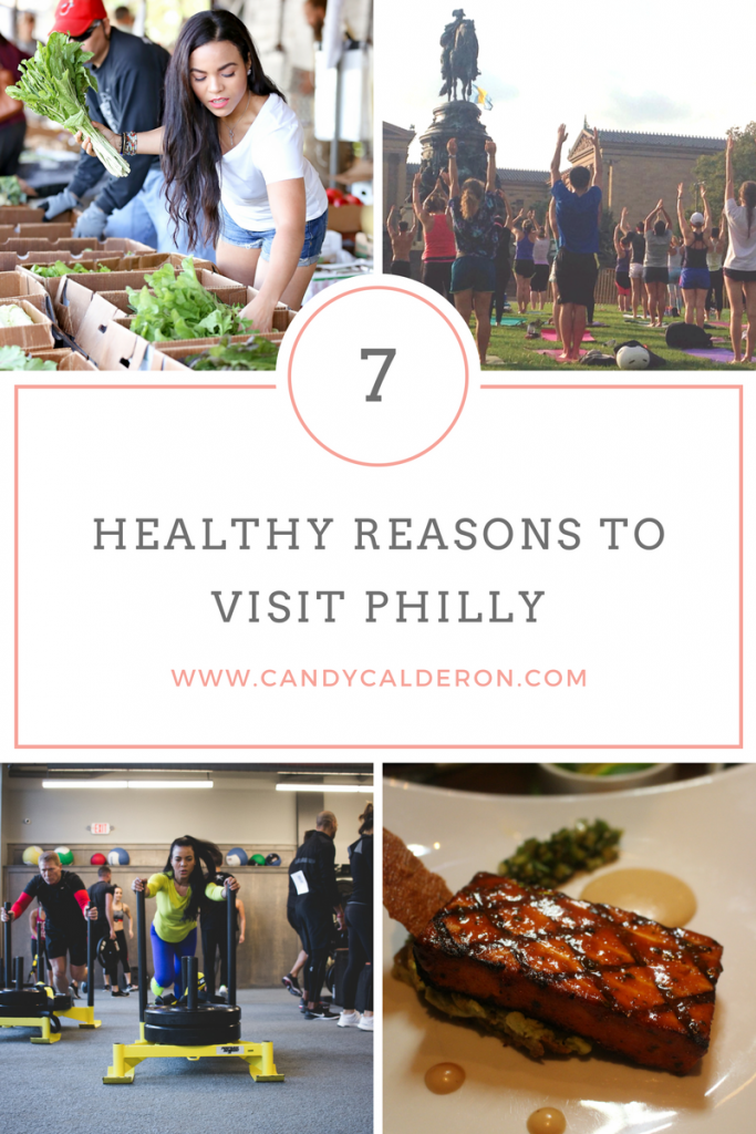 Wondering if you can keep it healthy while visiting Philly? Wonder no more! Even if you're a local, you'll be surprised. Here I give you my 7 Healthy Reasons to Visit Philly!
