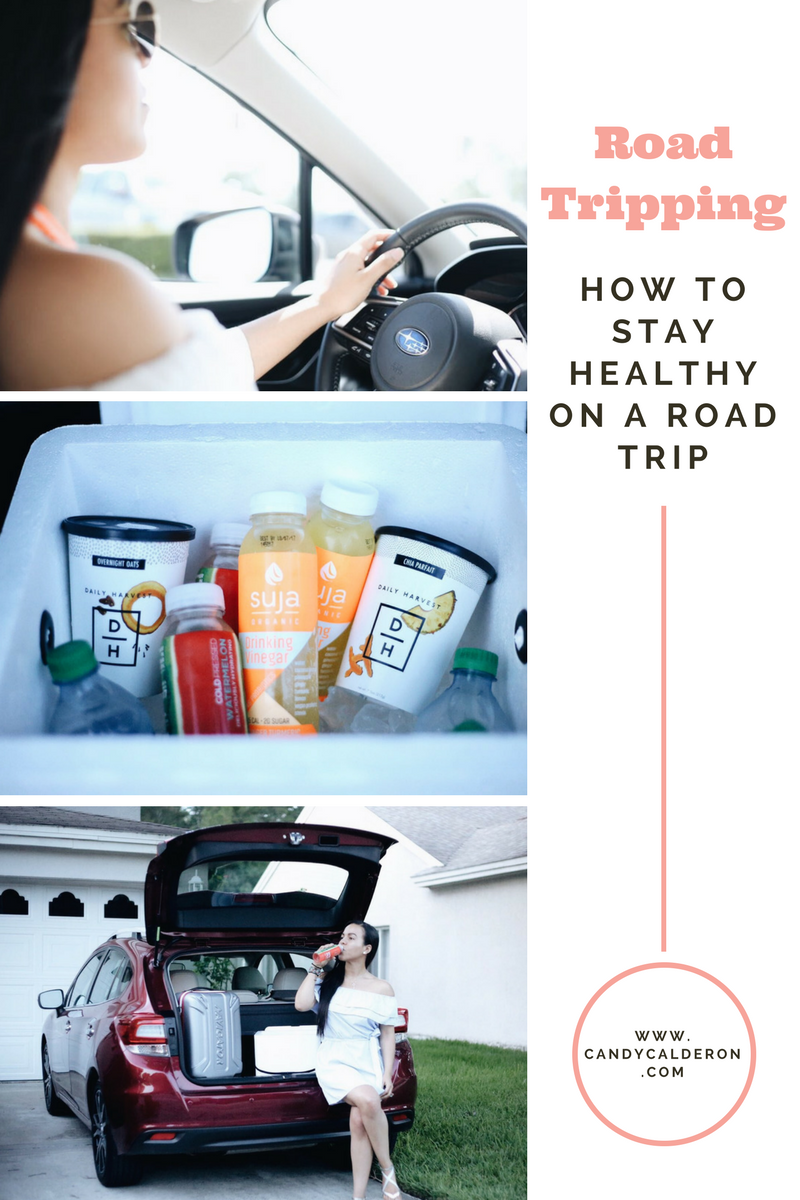 Staying healthy can be tricky while on a road trip. Here are my basic tips on how you can make that happen and enjoy the process!