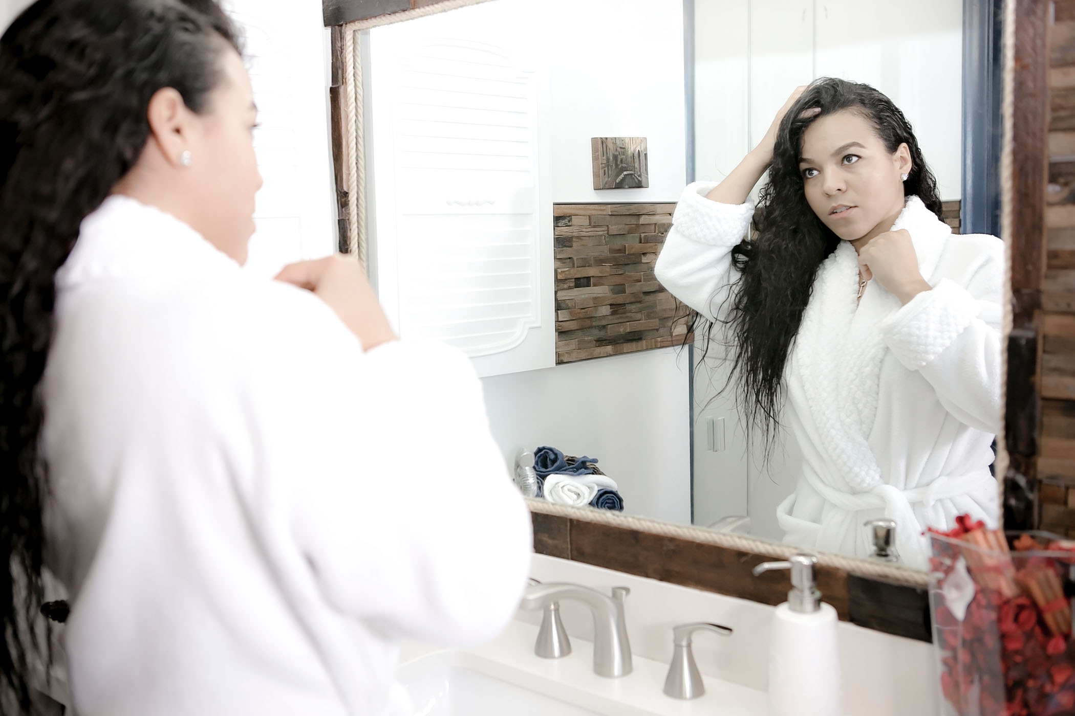 My A.M. shower routine has become one of my favorite rituals to set the tone for my day. Here I explain it step by step and the products I use!