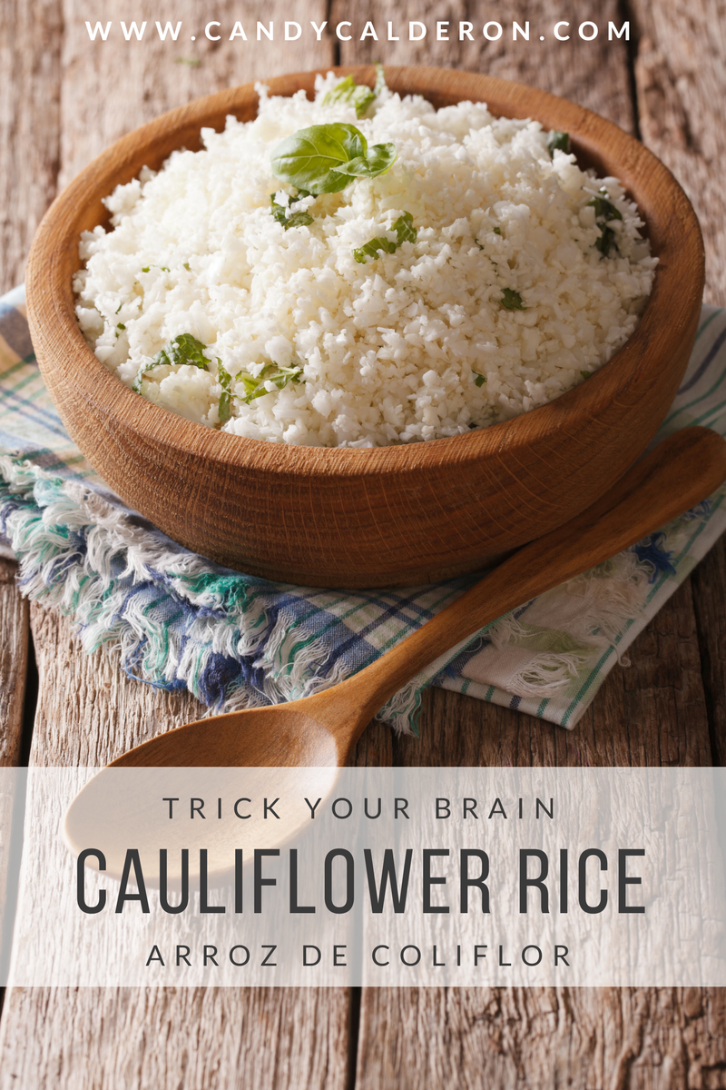 This recipe got me at low carb! This yummy —and easy recipe will trick your brain when you're craving white rice, but want to eat a healthier version!