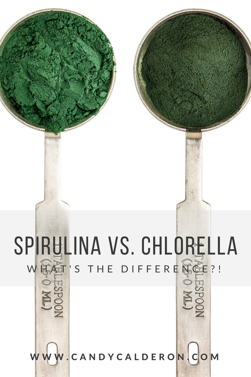 Spirulina & Chlorella are often confused... I love them both, but they have VERY different benefits, here I explain them and how you can use them!