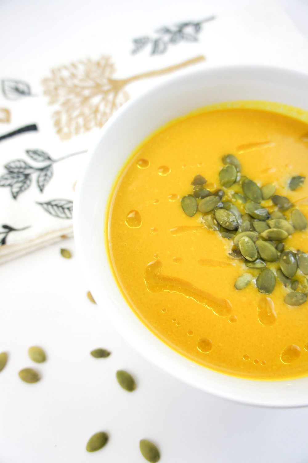 One of my all-time-favorite butternut squash soup recipes, adding my favs turmeric & ginger. Nourishing & delicious!