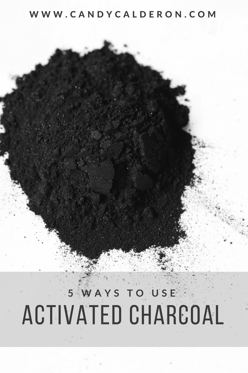 I swear by activated charcoal... it has so many benefits and SO MANY ways you can use it for health & beauty. Here I share my 5 favorite ways I use it all the time!