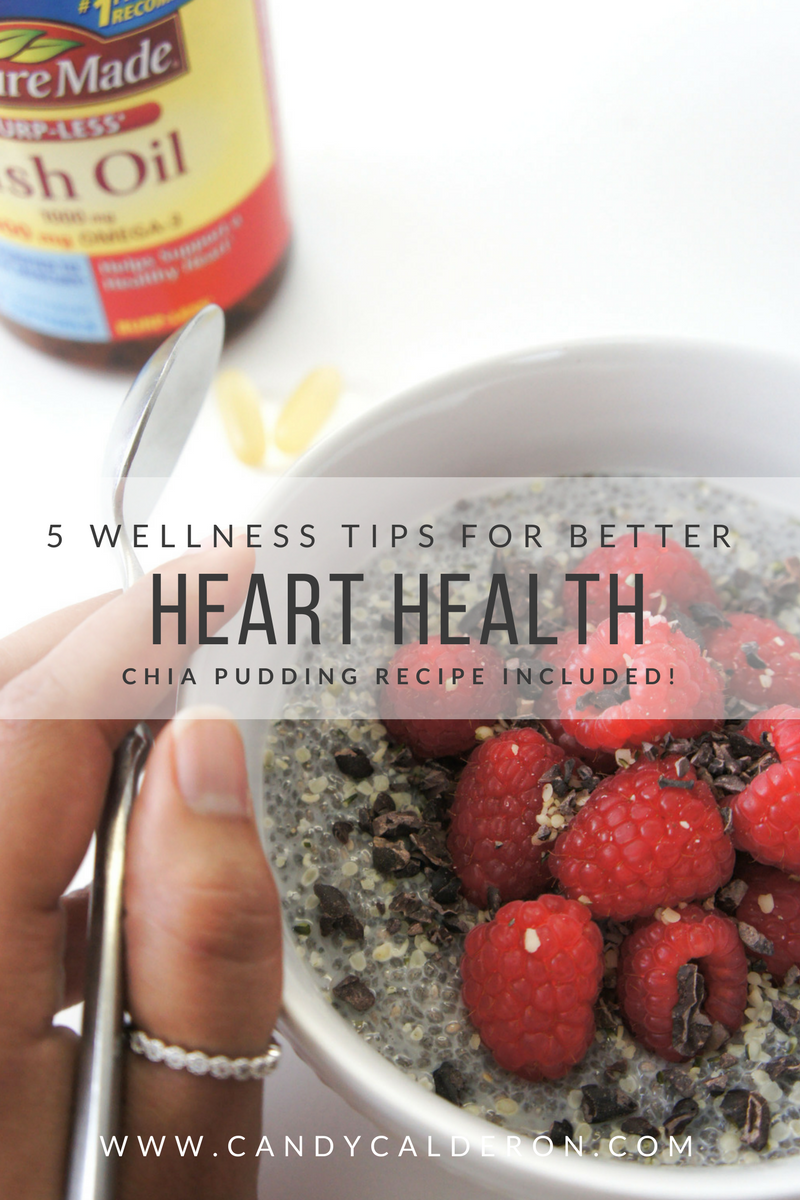 Heart health is becoming super important for me as the years go by, and I know for you too... Improve your heart health with these easy tips!