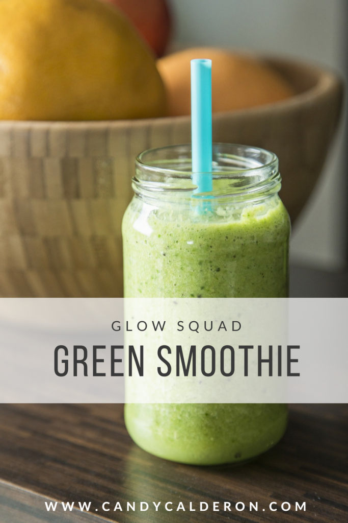 This is my fav green smoothie! I love it because it's a great way to incorporate tons of greens into my daily life  –far more than just eating veggies!