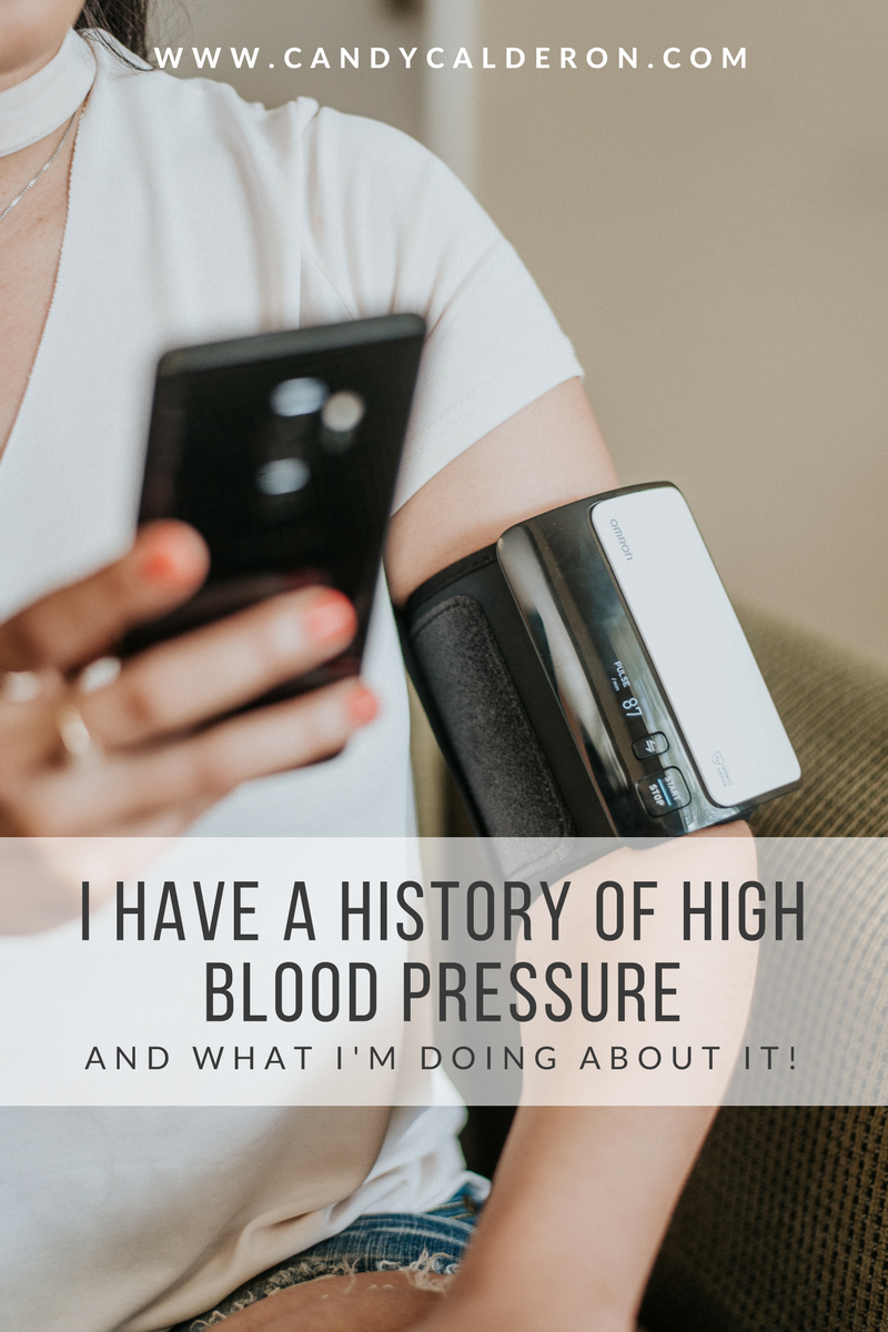 I have a huge history of high blood pressure in my family, so I know for a FACT I need to start taking care of myself in that regard. Here's what I am doing!
