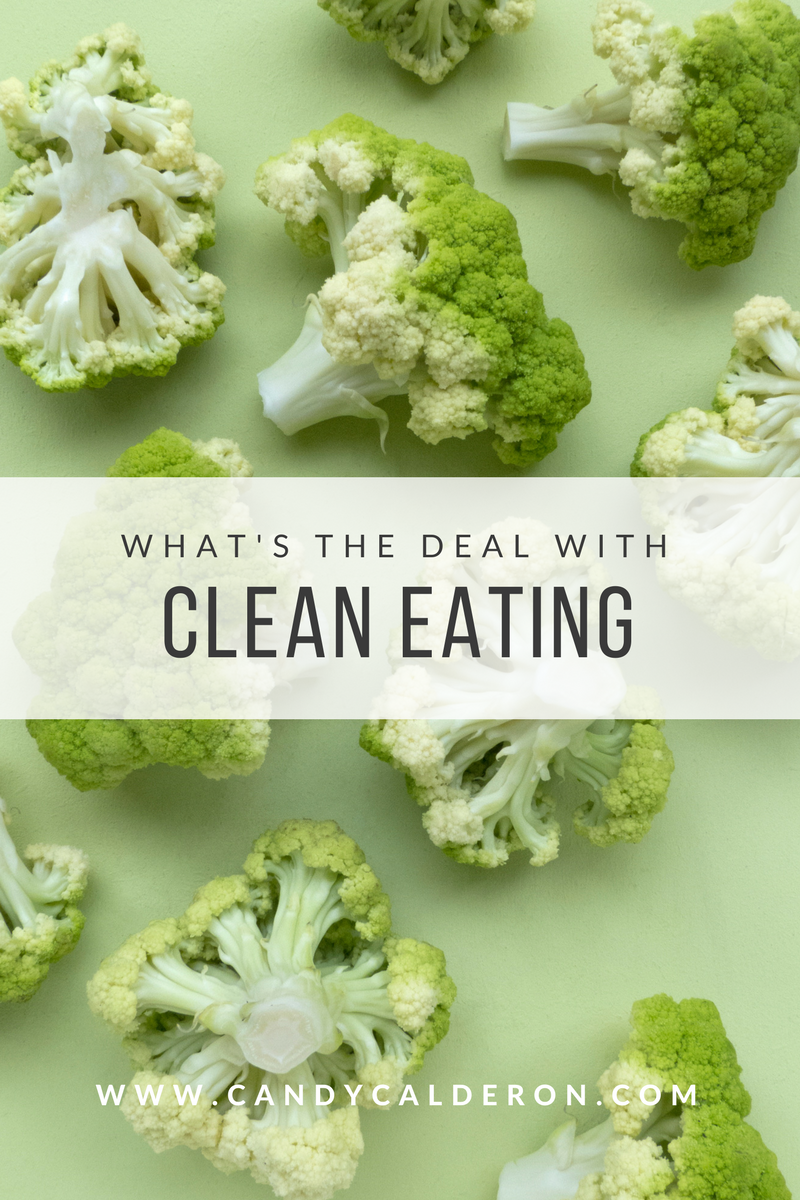 "There's lots of talk about ""Clean Eating"", but I see a LOT of confusion when applying the term in real life... Here's my exact explanation of it, benefits, and which foods fall into this category!"