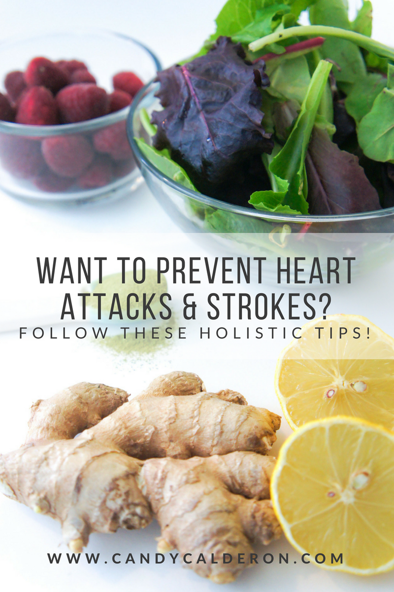If you've been searching for natural holistic ways to prevent heart attacks and strokes, this article is for you! Prevention is the KEY when it comes to heart health... here I share my fav 7 tips to do so!
