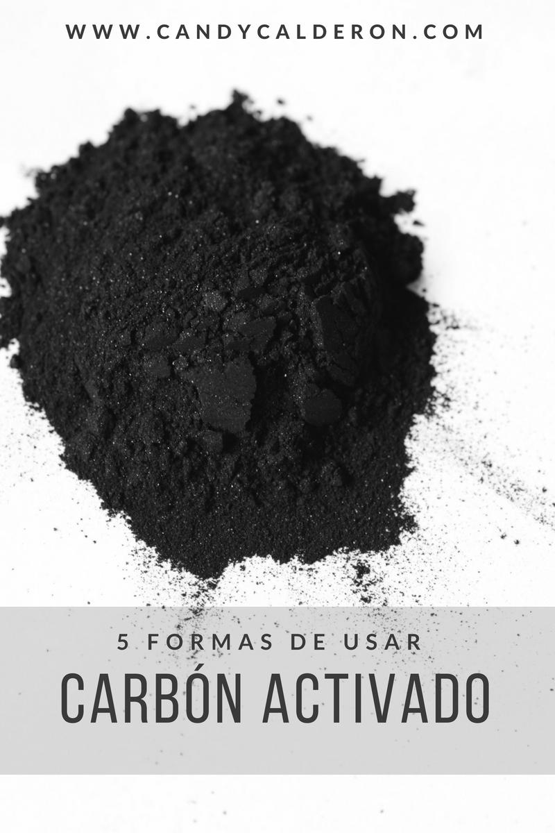 Me encanta el carbón activado... tiene tantos beneficios, y MUCHAS maneras en que puedes usarlo para tu salud e incluso belleza. Aquí te comparto mis 5 formas favoritas de usarlo!