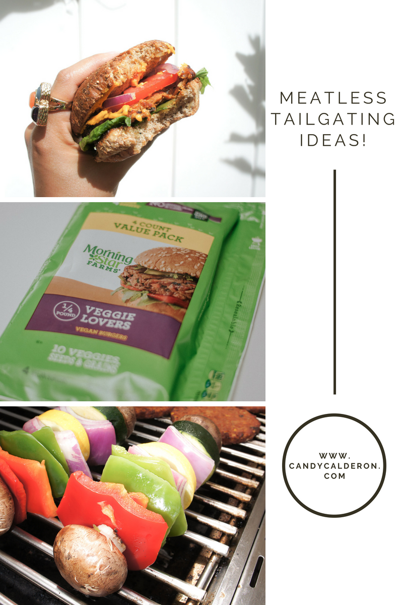 Looking for meatless tailgating options? Look no more! This yummy veggie burger is the perfect solution... So yums that even your meat eaters friend will love it. Check my complete recipe and enjoy!