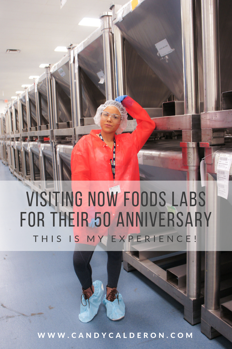 I recently visited Now Foods labs and spent time with their team to celebrate their 50 anniversary. Here I'm sharing my experience, and everything I learned!