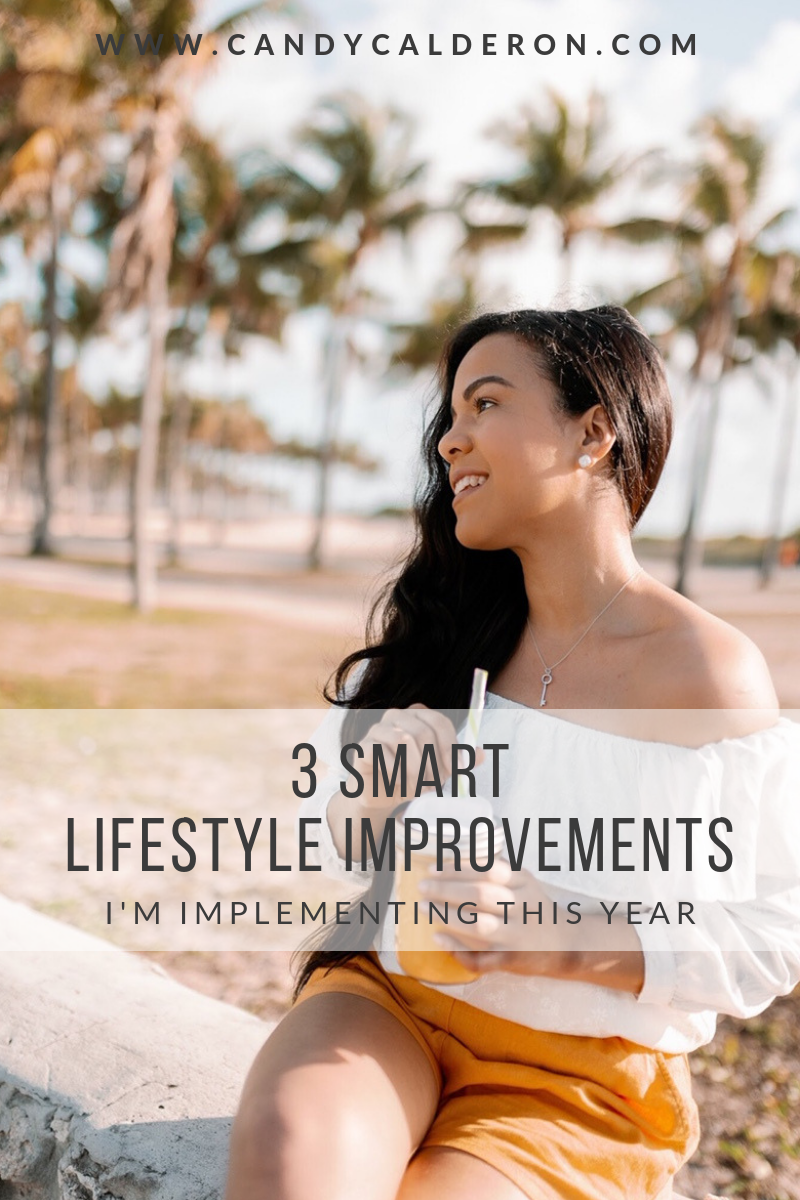 "I made the conscious decision of approaching life in a ""smarter"" way, focusing on the core feelings I want to experience. Here I'm sharing 3 smart lifestyle improvements I'm implementing this year to achieve that!"
