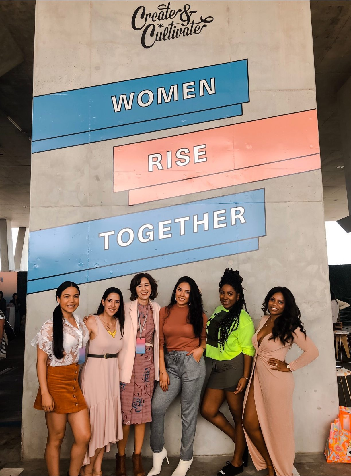 At Create & Cultivate in #Miami, I ASKED 5 FEMALE POWERHOUSES TO SHARE THE ADVICE THEY WISH SOMEONE GAVE THEM WHEN THEY STARTED IN THEIR CAREERS!