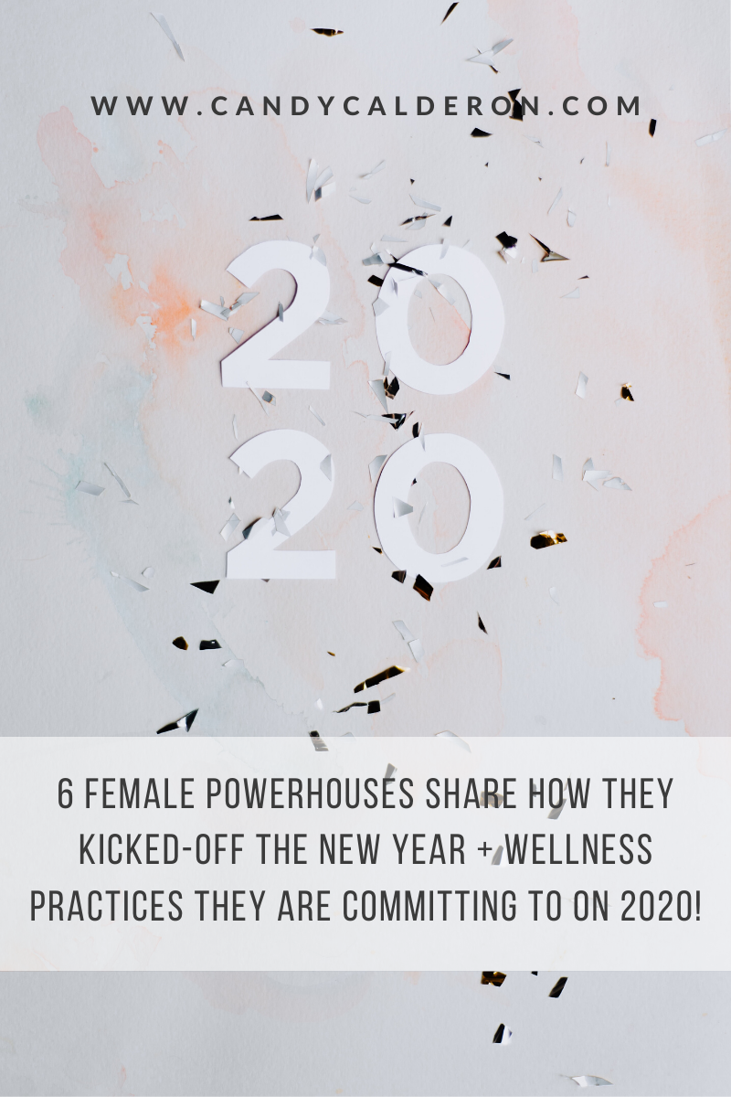 Get inspired with the insights from these 6 female powerhouses on how they kicked the new year, and the wellness practices they are committing to follow!