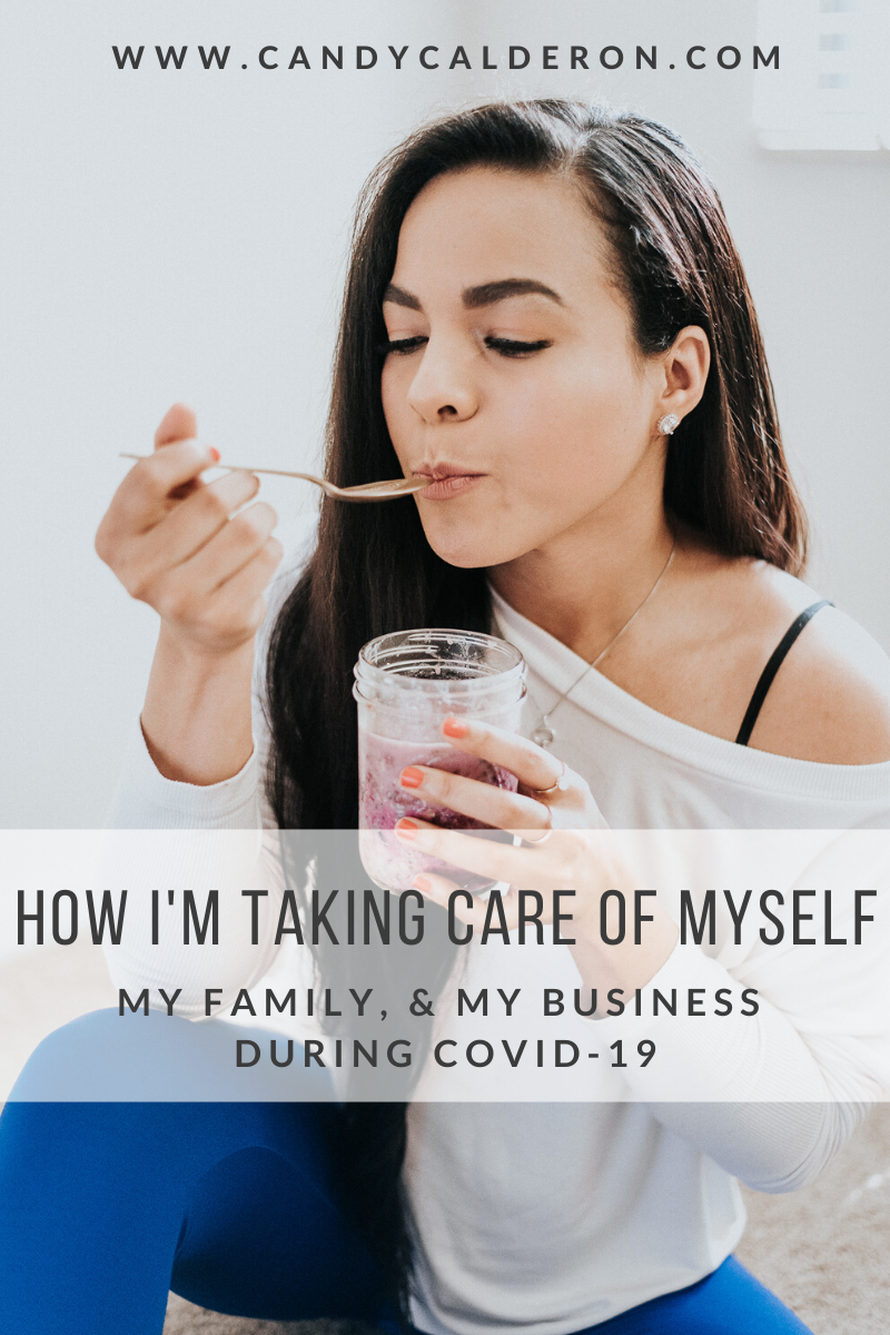 Taking care of your health & wellness (and your loved ones) is now more important than ever due to this COVID-19 situation. Here I'm sharing how I'm taking care of myself, my family & my business!